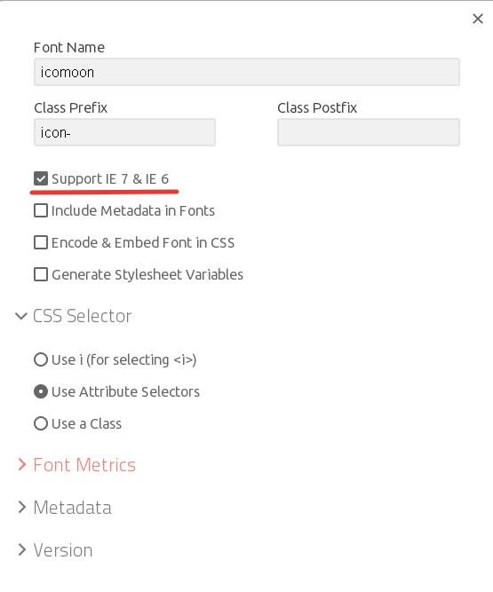 Подключение поддержки старых браузеров