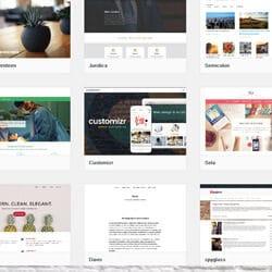 Выбор шаблона WordPress